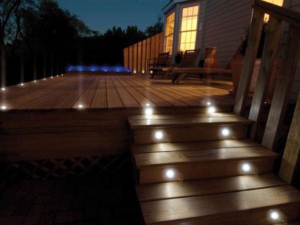 Faretti da terra giardino luce da incasso a pavimento led da