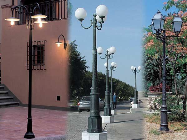 Vendita lampioni da giardino illuminare il giardino con i